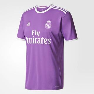 Jersey Real Madrid adidas Morado Original 2017-2018