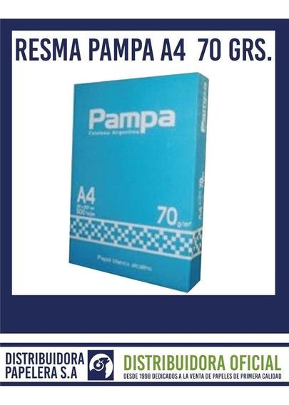 Resma A4/70 Grs Pampa Consulta Por Envío Sin Cargo