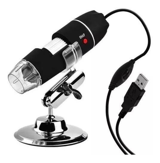 Microscopio Digital Usb 1600x Zoom