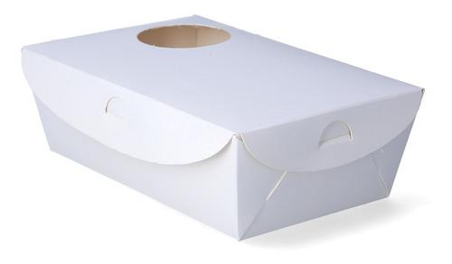 200 Caja Con Portavaso Take Away Café (23x15x7,5 Cm) Colores