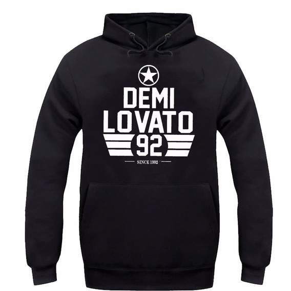 Moletom Demi Lovato Pop Music Promoção Ótima Qualidade