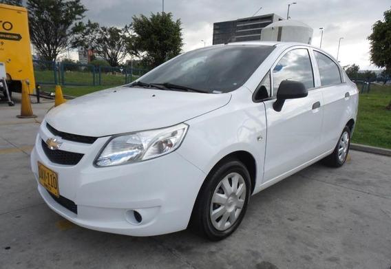 Chevrolet Sail Motor 1.4 2014 Blanco 5 Puertas