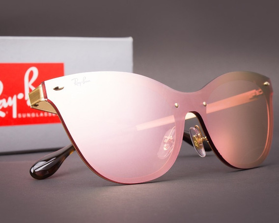 Ray-ban Blaze Cat Eye Rb3580 Original Com Nf E Garantia