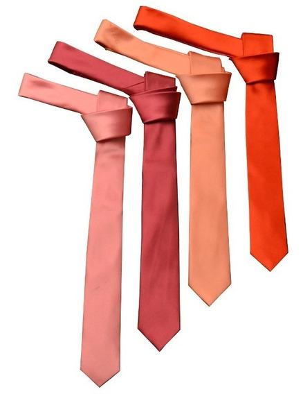 Corbata Angosta / Corbatín Para Adultos. Varios Colores