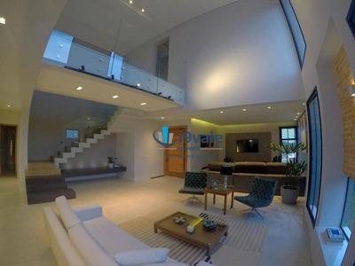 Casa Com Estilo, Fachada Moderna E Recém Construída, À Venda-alphaville Ii -urbanova-são Jose Dos Campos! - Ca1184