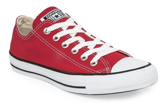 Zapatillas Converse All Star Rojo Blanco! 100% Original!