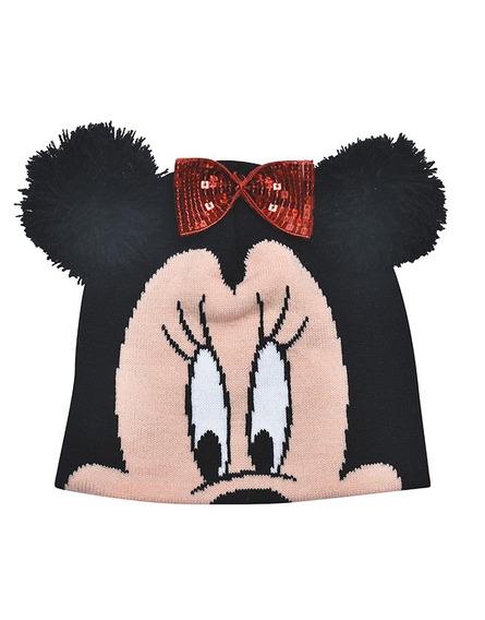 Gorro De Lana Minnie Mouse Con Orejitas Original Disney