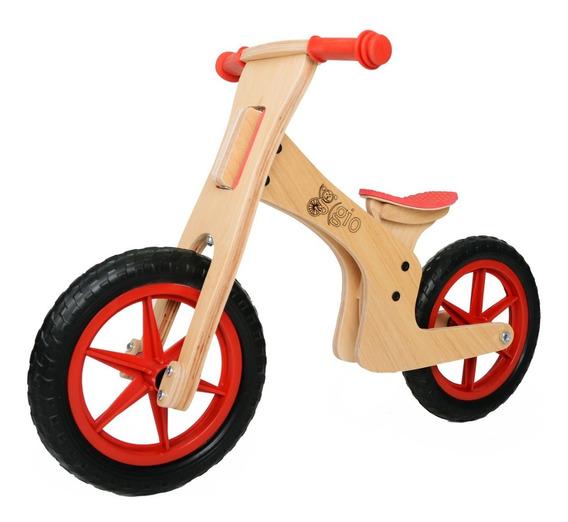 Bicicleta De Inicio De Madera Gio Clásica, Sin Pedales