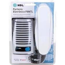 Interfone Hdl F8 Com Alarme Anti Furto
