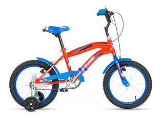 Bicicleta Cross Topmega R16 Bmx Nene Varon Con Rueditas