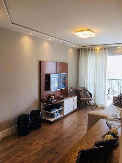 Apartamento Com 3 Dormitórios À Venda, 80 M² Por R$ 725.000 - Vila Gumercindo - São Paulo/sp - Ap4815