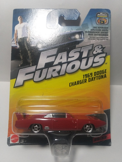 Fast & Furious Dodge Charger Daytona 1969 29/32 Escala 1/55