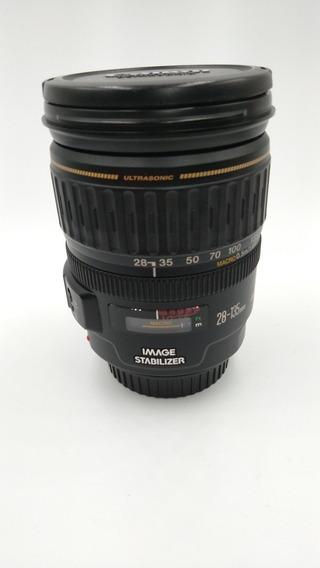 Lente Objetiva Canon 28-135mm Usm Is