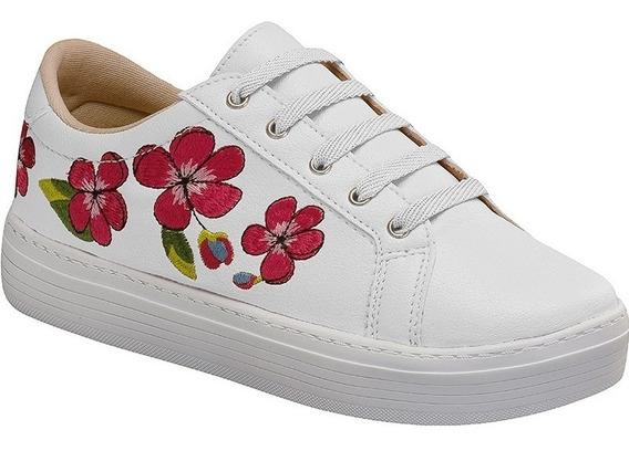 Tenis Feminino Sapato Sapatenis Casual | Branco, Nude, Preto