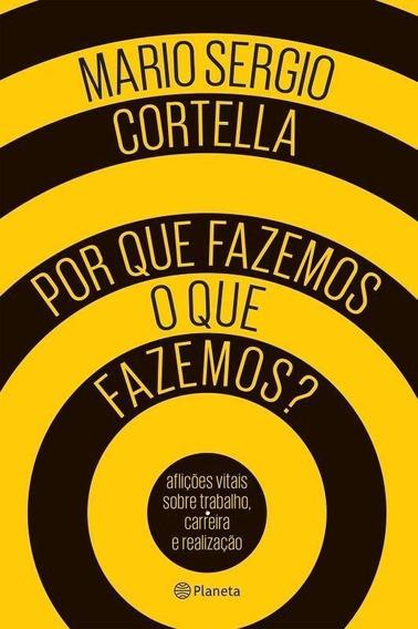Livro Por Que Fazemos O Que Fazemos - Mario Sergio Cortella