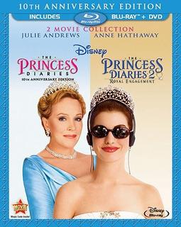 Blu-ray : - The Princess Diaries: 10th Anniversary Edi...