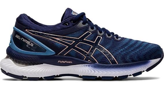 Asics Zapatillas Running Mujer Gel Nimbus 22 Az-azul Marino