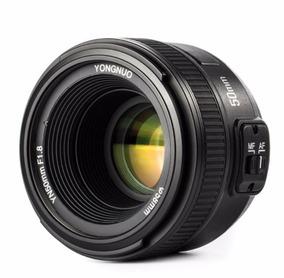 Lente Nikon Yongnuo 50mm F1.8 N Af Nova Para Nikon