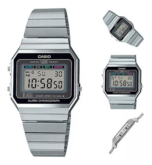 Reloj Casio Vintage A700w1acf Original Unisex E-watch