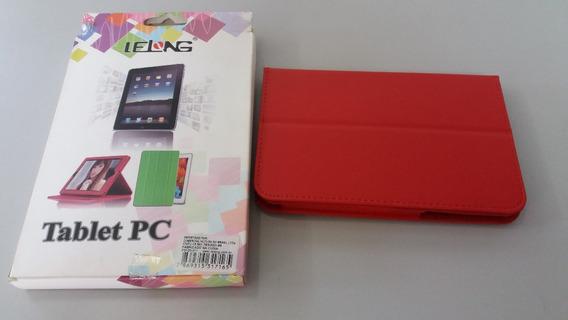 Capa Case Tablet Samsung Galaxy P6200 P3100 Vermelho