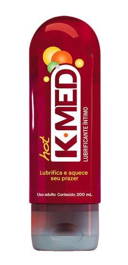 K-med Hot Gel Lubrificante Íntimo 200ml
