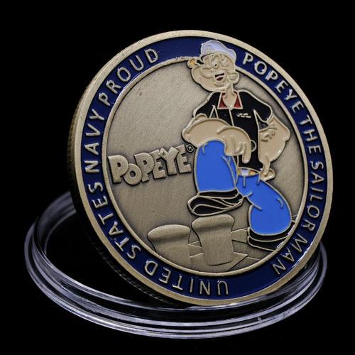 Moneda De Colección Popeye.