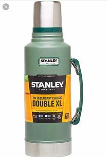 Termo Stanley Classic 1.9 Lt Verde Con Manija