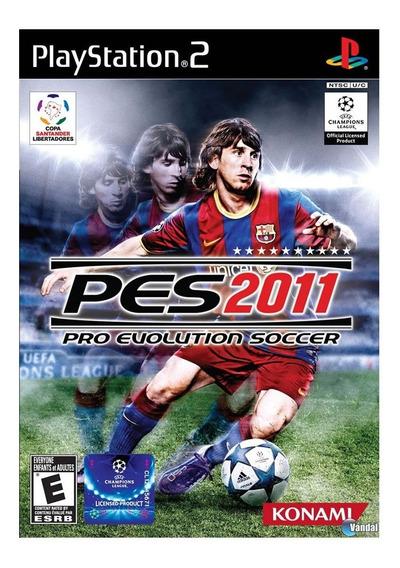 Pes 2011 Pro Evolution Soccer - Ps2 - Original | Lacrado