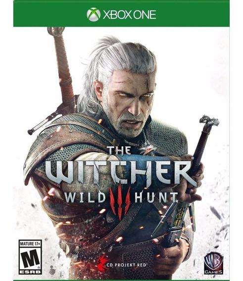 Jogo Novo Lacrado The Witcher 3 Wild Hunt Portugues Xbox One