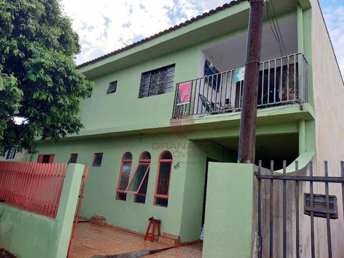 Imagem 1 de 2 de Sobrado Com 3 Dormitórios À Venda, 240 M² Por R$ 530.000,00 - Parque Tarumã - Maringá/pr - So0060