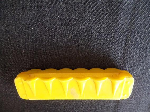 Gaita De Plástico - Ideal - Amarela - Antiga