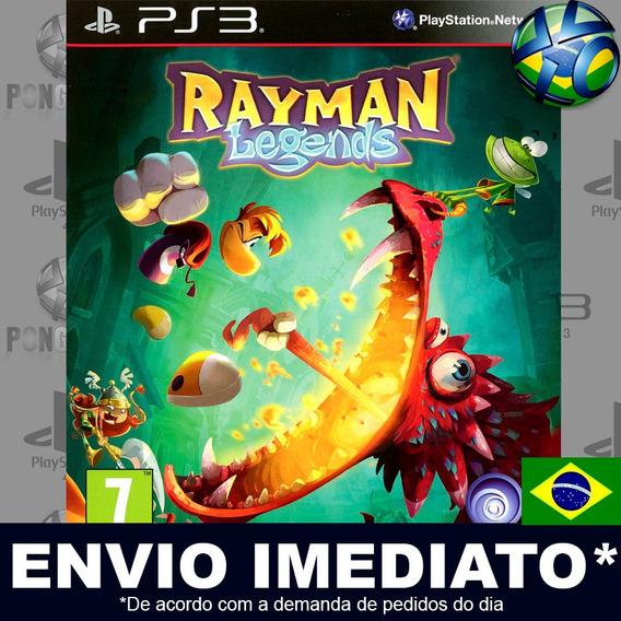 Jogo Ps3 Rayman Legends Psn Play 3 Português Envio Imediato