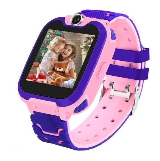 Reloj Inteligente Q12 Gps Niños Ip67 Impermeable P/táctil