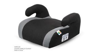 Assento De Elevação Infantil P/ Carro 15 A 36kg Preto/cinza