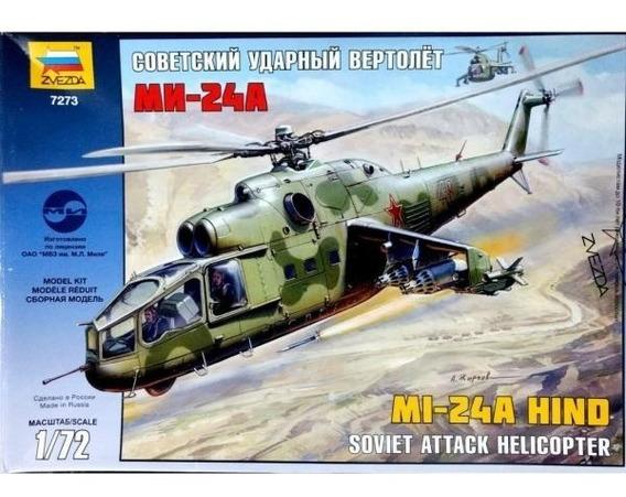 Zvezda Helicoptero Mi-24a Hind 1/72 Supertoys