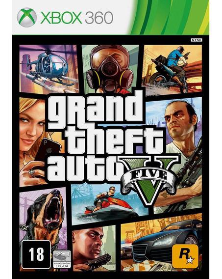Gta 5 Em Português - Xbox 360 - Mídia Digital Envio Imediato