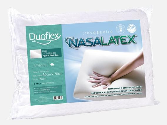 Travesseiro Duoflex Nasalatex Nl1101 50x70x14cm