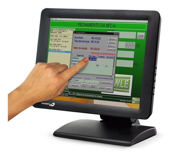 Monitor Touch Screen Bematech Lcd 15 - Nf