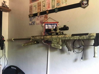 Airsoft Barret.50 M82a1 Snow Wolf