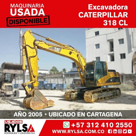 Excavadora Cat 318 Caterpillar Usada
