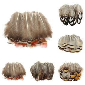 20 Pcs Bonito Natural Faisão Penas Cauda Sortido 4-11cm Arte