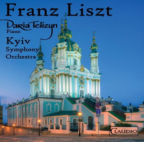 Cd Liszt / Telizyn / Kyviv Symphony Orchestra Liszt Lelio Fa