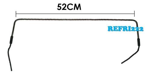 Resistencia Hierro Nevera Mabe 52cm 120-200w
