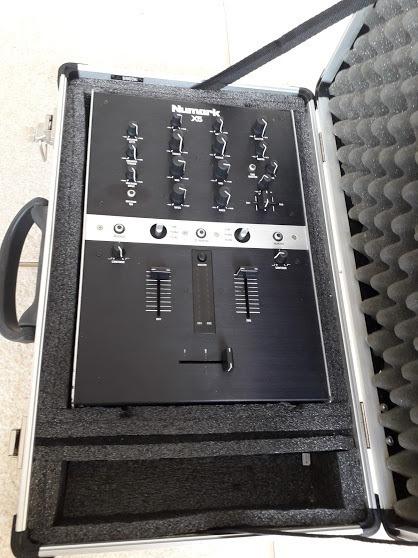 Mixer Numark X5 Com Case Nao E Mk2 Technics Ler Anuncio