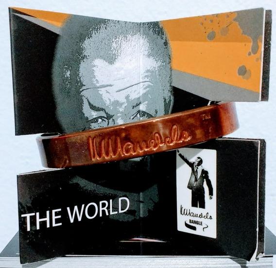 Blacelete Bronze Nelson Mandela Africa Do Sul Colecionador