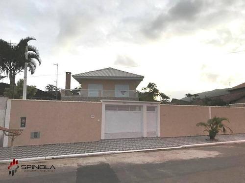 Imagem 1 de 18 de Casa Com 4 Dormitórios À Venda, 180 M² Por R$ 1.200.000,00 - Solemar - Praia Grande/sp - Ca1626