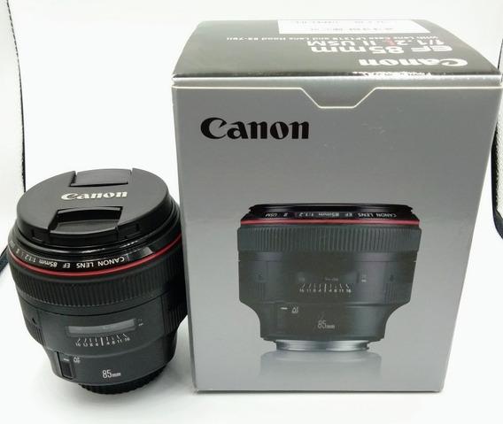 Lente Objetiva Canon 85mm F 1.2 L