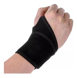 Munhequeira Tendinite De Pulso Ajustavel Em Neoprene Velcro