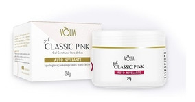 Gel Classic Pink 24g Volia Original Nota Fiscal
