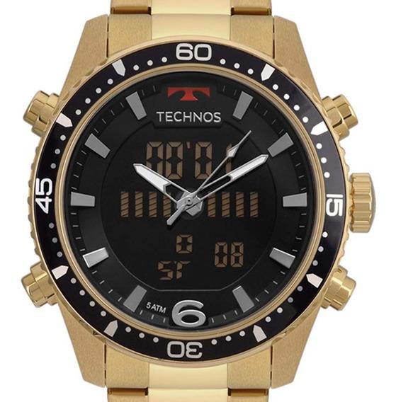 Relógio Technos Masculino Bjk203aad/4p Sport C/ Nf-e